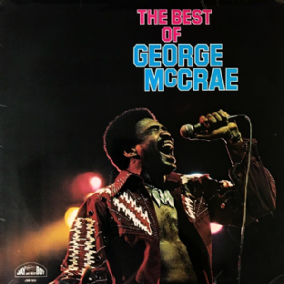 George McCrae ‎- The Best Of George McCrae (LP) (VG/G++)